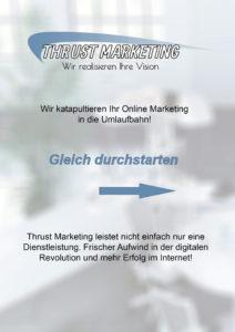 Thrust marketing Werbeagentur Online marketing