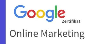 Google online marketing zertifikat thrust marketing 2